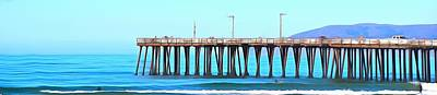Photograph - Pismo Pier Pano by Barbara Snyder