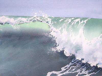 Pismo Wave Number Eight Art Print by Philip Fleischer