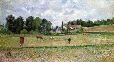 Photograph - Pissarro: Cow Pasture by Granger