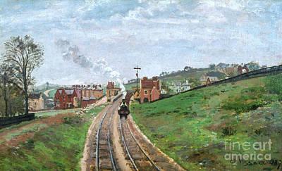 Photograph - Pissarro: Station, 1871 by Granger