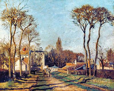 Impressionist Photograph - Pissarro: Voisins, 1872 by Granger