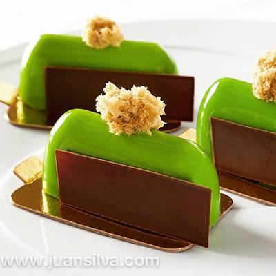 Sweet Wall Art - Photograph - Pistacho Petit Gateaux, Made  By The by Juan Silva