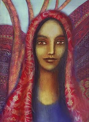 Sacred Feminine Painting - Pistis Sophia by Alice Mason