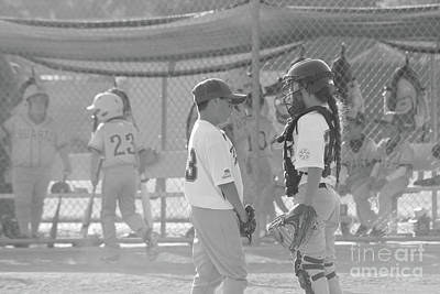 Photograph - Pitcher And Catcher by Leah McPhail
