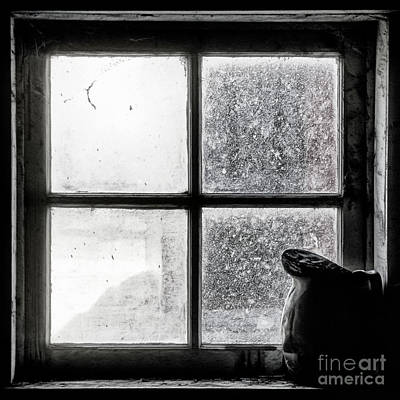 Art Print featuring the photograph Pitcher In The Window by Brad Allen Fine Art