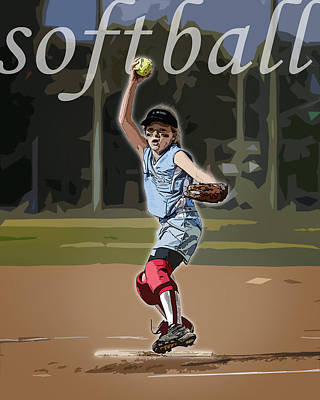 Pitcher Art Print by Kelley King