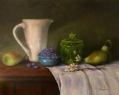 Painting - Pitcher Of Health by Anne Barberi