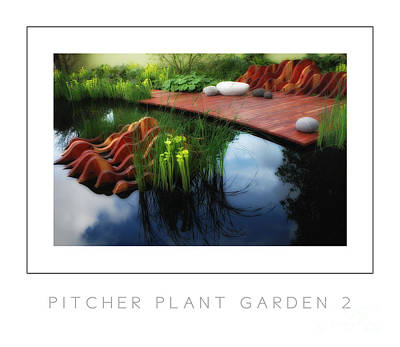 Pitcher Plant Garden 2 Poster Art Print by Mike Nellums