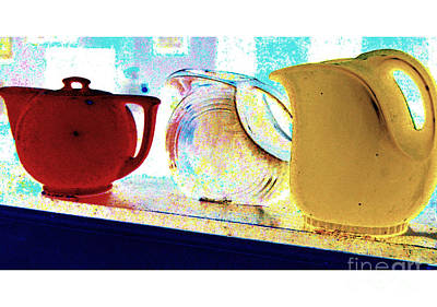 Photograph - Pitchers by Diane montana Jansson