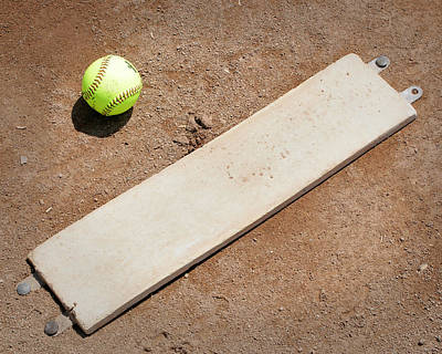 Softball Photograph - Pitchers Mound by Kelley King