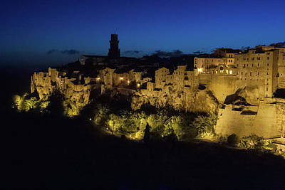 Photograph - Pitigliano Evening by Kathleen McGinley