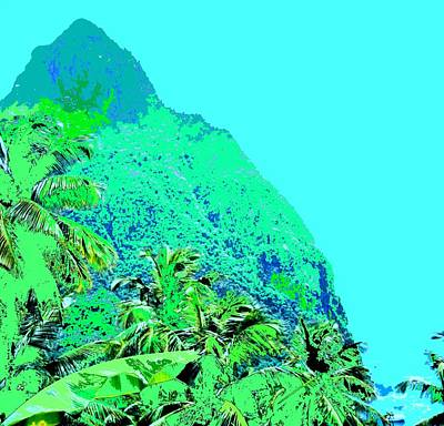 Travel Rights Managed Images - Pitons Royalty-Free Image by Ian  MacDonald