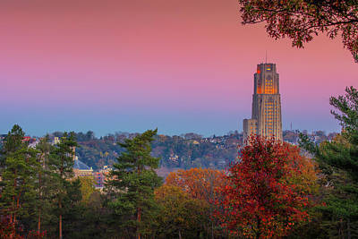 Photograph - Cathedral Of Learning by Emmanuel Panagiotakis