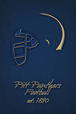 Panther Photograph - Pitt Panthers by Joe Hamilton
