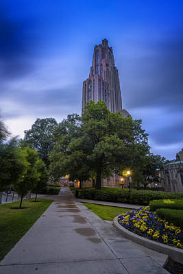Pitt Art Print by Rick Berk