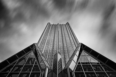 Pittsburgh Architecture 11 Bw Art Print by Emmanuel Panagiotakis