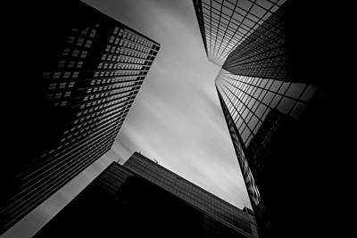 Photograph - Pittsburgh Architecture 12 Bw by Emmanuel Panagiotakis