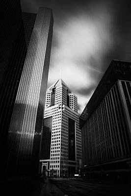 Pittsburgh Architecture  2bw Art Print by Emmanuel Panagiotakis
