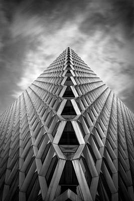 Pittsburgh Architecture  3bw Art Print by Emmanuel Panagiotakis