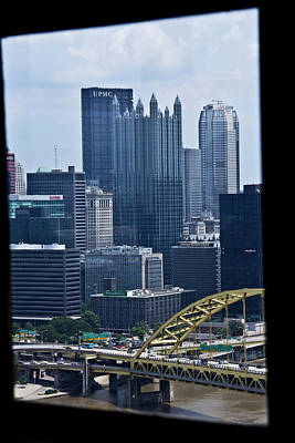 Graduation Sayings - Pittsburgh from Incline by Scott Stewart