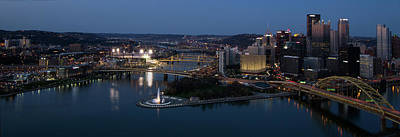 Photograph - Pittsburgh Night by Art Cole