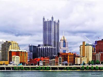 Photograph - Pittsburgh Pa Skyline by Susan Savad