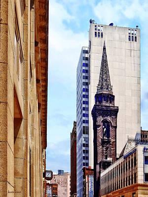 Photograph - Pittsburgh Pa - Smithfield St Near Smithfield Church by Susan Savad