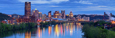 Photograph - Pittsburgh Pano 13 by Emmanuel Panagiotakis