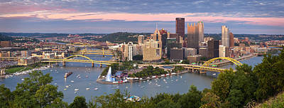 Photograph - Pittsburgh Pano 23 by Emmanuel Panagiotakis
