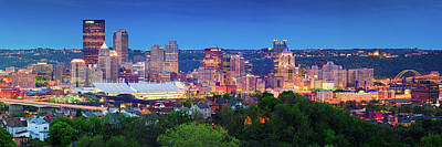 Photograph - Pittsburgh Pano 3 by Emmanuel Panagiotakis