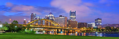 Photograph - Pittsburgh Pano 9 by Emmanuel Panagiotakis