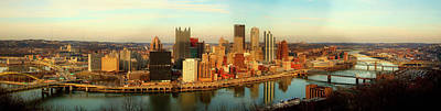 Photograph - Pittsburgh Panorama by Mgehring