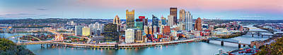 Photograph - Pittsburgh Panorama by Mihai Andritoiu