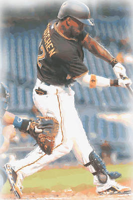 Pittsburgh Pirates Andrew Mccutchen 2 Print by Joe Hamilton