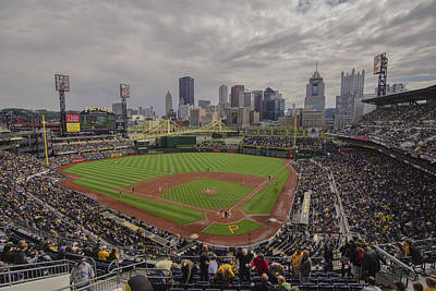 Photograph - Pittsburgh Pirates Pnc Park X4 by David Haskett II