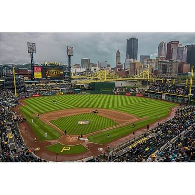 Baseball Wall Art - Photograph - #pittsburgh #pittsburghpirates by David Haskett II