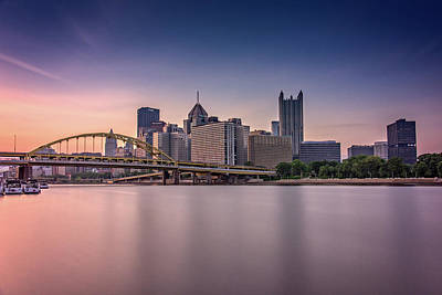 Pittsburgh Art Print by Rick Berk