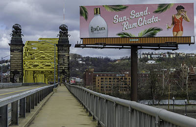 Photograph - Pittsburgh Sixteenth Street Bridge by Steven Richman
