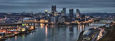 Pittsburgh Skyline 2 Art Print