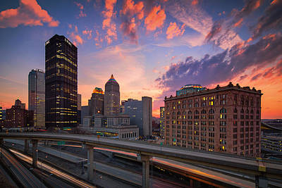 Pittsburgh Skyline  60 Art Print by Emmanuel Panagiotakis