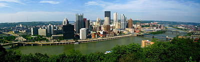 Photograph - Pittsburgh Skyline by Denise Mazzocco