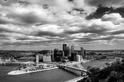 Photograph - Pittsburgh Skyline by Michelle Joseph-Long