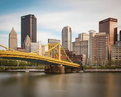 Photograph - Pittsburgh Skyline by Paul Treseler