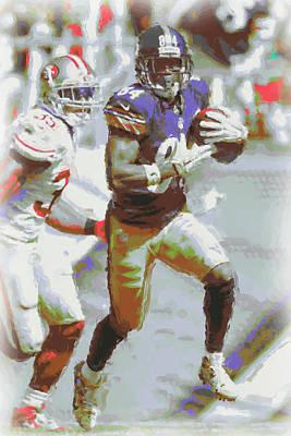 Photograph - Pittsburgh Steelers Antonio Brown 3 by Joe Hamilton