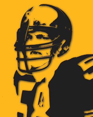 Pittsburgh Steelers Jack Lambert Art Print by Joe Hamilton