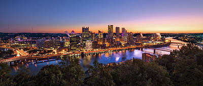 Photograph - Pittsburgh Sunrise by Erwin Spinner