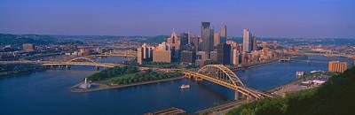 Pittsburgh,pennsylvania Skyline Art Print by Panoramic Images