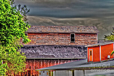 Photograph - Pittsford Storage by William Norton