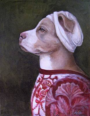 Painting - Pitty Lady by Laura Aceto