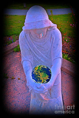 Mother Mary Digital Art - Pity And Sorrow For Such A World by John Malone